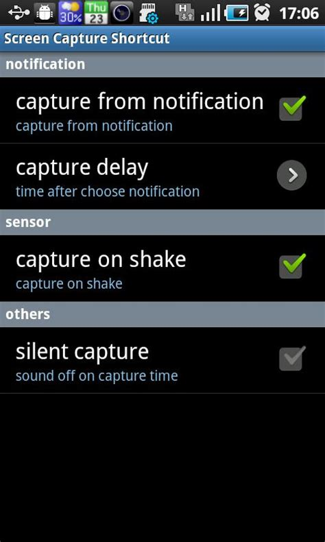 screen capture android screen capture shortcut free android apps on play