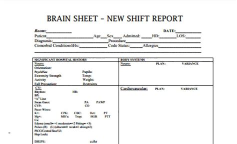 Deal Review Template by The 10 Best Brain Sheets Scrubs The Leading
