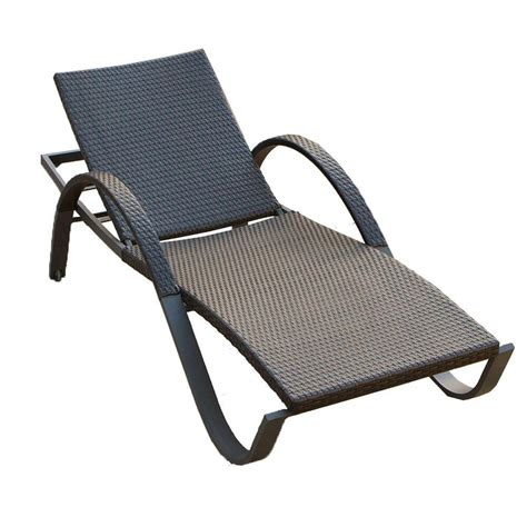deco chaise rst brands deco stacking patio lounge chaise op peal deco