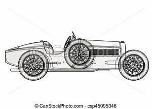 Cote Vehicule Ancien : ancien voiture schedule lignes par course contour vecteur eps rechercher des clip ~ Gottalentnigeria.com Avis de Voitures
