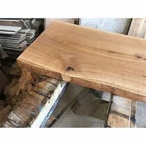 Tischplatte Eiche Geölt : baumscheibe waschtisch tischplatte eiche baumkante 60x35x4 5cm ge lt ~ Frokenaadalensverden.com Haus und Dekorationen