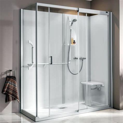 Complete Shower Enclosures - kinedo kinemagic serenity complete shower cubicle uk