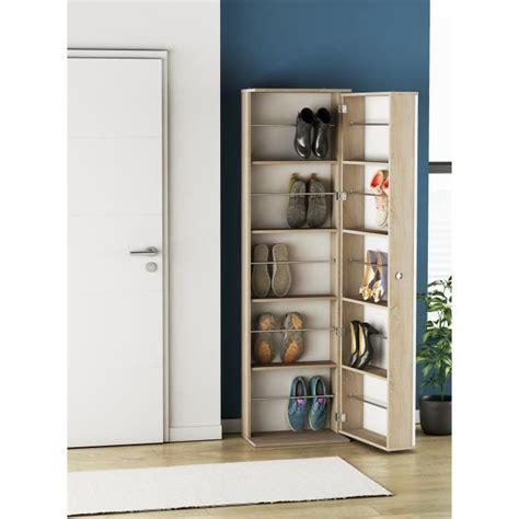 meuble chaussures maison du monde ballerina armoire à chaussures avec miroir style