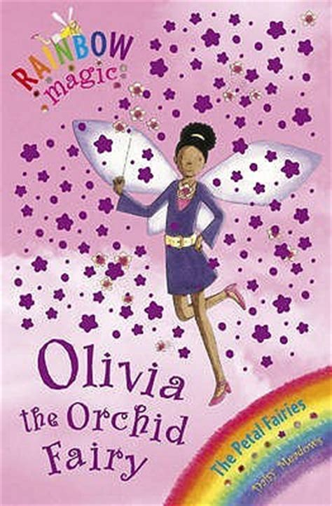 olivia  orchid fairy rainbow magic petal fairies