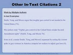 Other In Text Citations 2 Work By Multiple Authors In Works Cited Creating A Works Cited Page And Parenthetical Citations MLA 7 How To Cite An Author In MLA Format 5 Steps With Pictures