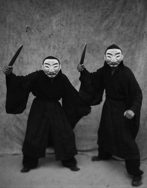 masks photo  bohnchong koo black  white decor