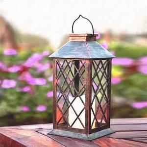 Solar, Lantern, Indoor, Or, Outdoor, Bronze