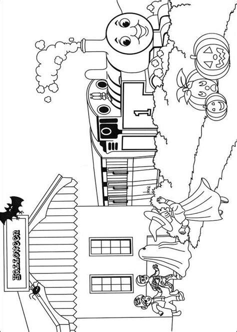 disegni  trenino thomas da colorare pianetabambiniit