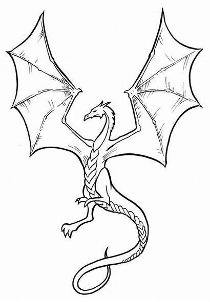 Dragon Drawing Easy Drawings Simple Google Dragons