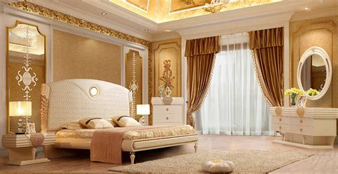 luxurious bed hd  classic bedroom