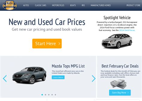 """New Car Prices"""" """"2007 Used Car Values"""""""