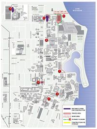 Northwestern University Campus Map