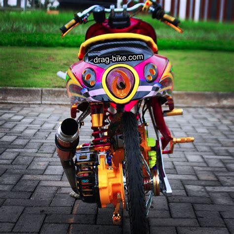 Vixion Thailook Style by 42 Foto Gambar Modifikasi Fino Thailook Style Simple