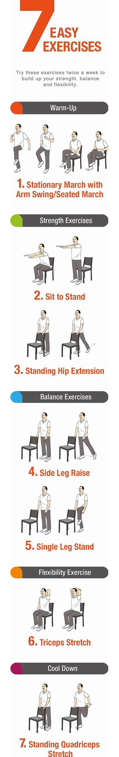 Exercises Easy Seniors Exercise Step Seated Pdf