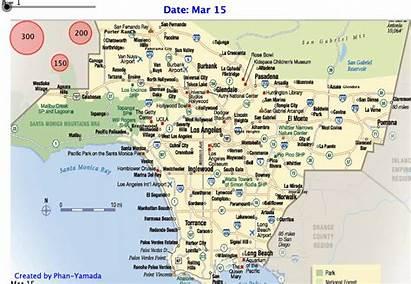 Map Coronavirus Animated Cal State