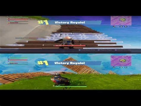fortnite split screen squad win youtube
