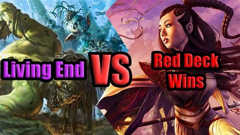 Mtg Living End Vs Red Deck Wins Ten Tix Gauntlet Round 2