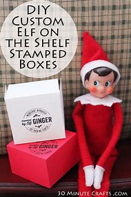 DIY Printable Elf On The Shelf
