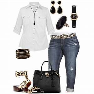 8 cute casual plus size summer outfits with capri pants - stylishwomenoutfits.com