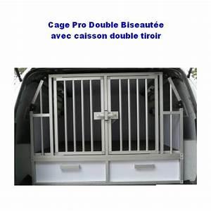 Cage Transport Chien Voiture : cage de transport dogbox pro double biseautee 2 chiens pour le voyage en voiture train ou en ~ Medecine-chirurgie-esthetiques.com Avis de Voitures