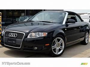 Audi A4 2008 : 2008 audi a4 2 0t quattro cabriolet in brilliant black ~ Dallasstarsshop.com Idées de Décoration