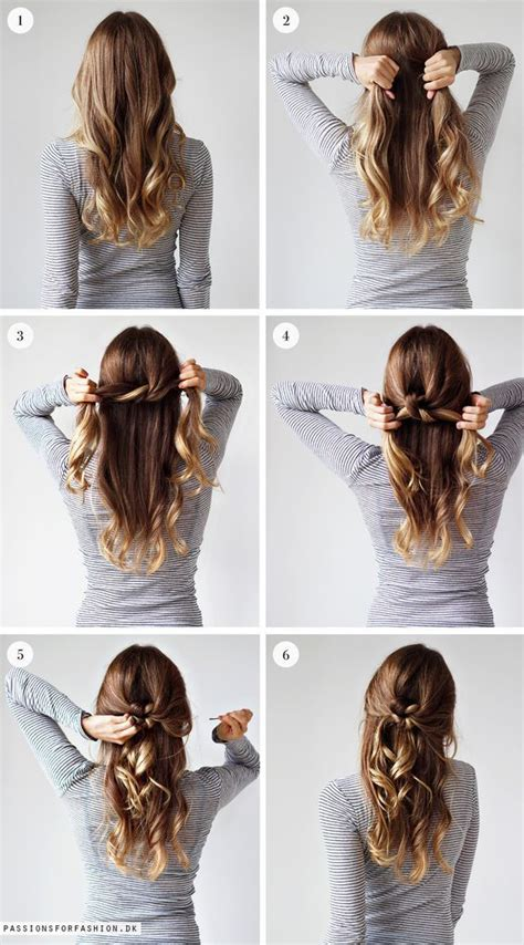 lazy girls are always into easy to do and quick hairstyles