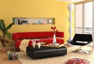 Welche Kissen Zu Rotem Sofa : farbideen f r wohnzimmer 36 neue vorschl ge ~ Michelbontemps.com Haus und Dekorationen