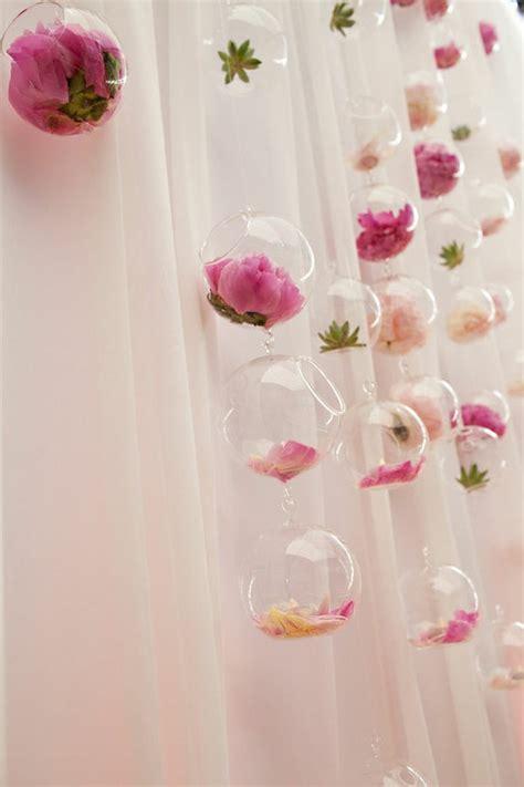 Pink Hanging Decorations - pink wedding creative wedding decoration ideas 799641