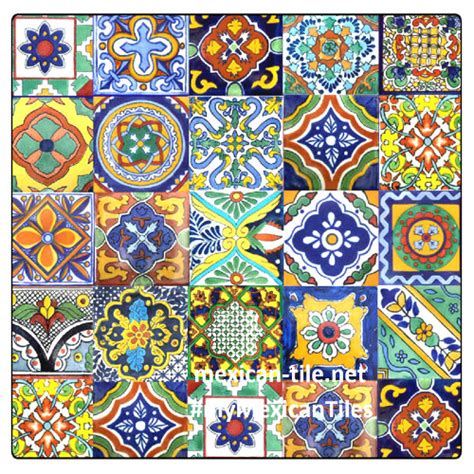 mexican tiles kitchen bath stairs