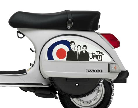 side panel stickers fits vespa px t5 scooter the jam mod target decal sp5 ebay