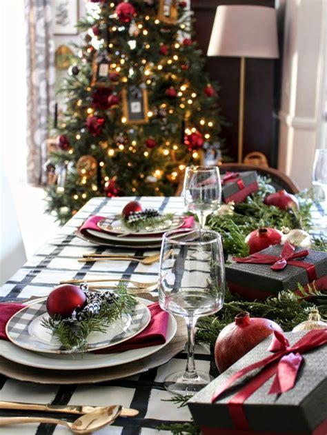 unique christmas table settings ideas  pinterest