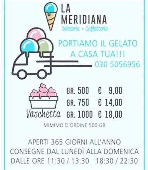 gelateria artigianale bar la meridiana paderno franciacorta