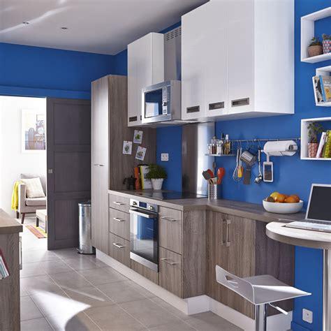 delinia cuisine meuble de cuisine décor chêne havane delinia topaze