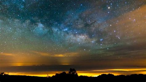 A Beautiful Glimpse Of The Milky Way From Spains Tallest