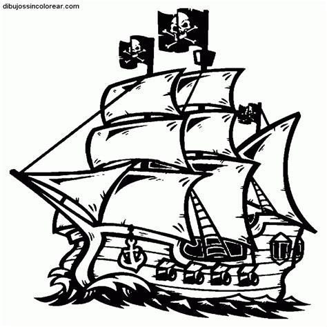 Imagenes De Barcos Sin Pintar by 15 Dibujos De Barcos Piratas Infantiles Para Colorear