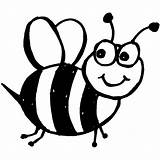 Bumble Bee Template Preschool Coloring Pages Bees Outline Print Colouring Clipart sketch template