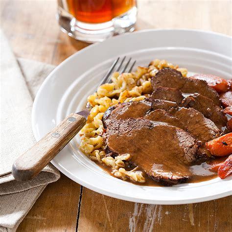 german pot roast sauerbraten cooks country