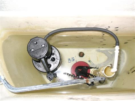 How To Replace A Toilet Fill Valve And Flapper  Howtos Diy