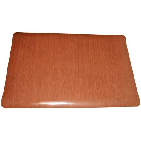 floor mats vinyl rhino anti fatigue mats soft woods walnut 36 in x 60 in double sponge vinyl indoor anti