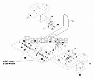 Exmark Parts On The Engine Deck Group Diagram For