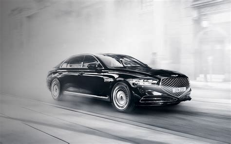 Hyundai Genesis G90 2020 by 2020 Genesis G90 Debuts In Korea With Major Facelift