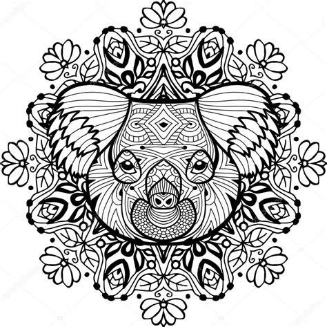 Kleurplaat Carnaval Groep 8 by Totem Kleurplaat Voor Volwassenen Het Hoofd De Koala