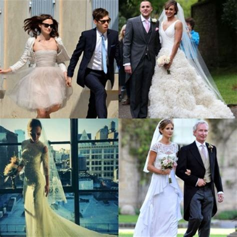 Most stylish celebrity wedding dresses of 2013   Fashion