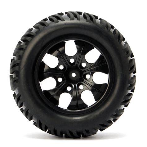 wheels monster trucks videos 4pcs wheel rim tires hsp 1 10 monster truck rc car 12mm