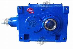 China B Bevel Helical Gearbox Hollow Shaft Output B2hh11