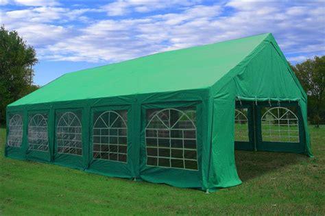 heavy duty party tent gazebo canopy blue green
