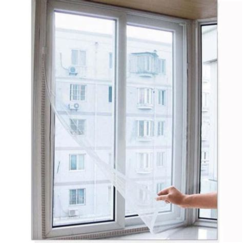 adhesive insect fly mosquito screens diy mosquito screens gauze curtains  velcro hg