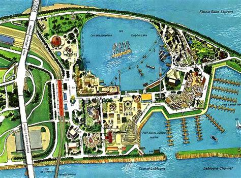 Expo 67  La Ronde  Map