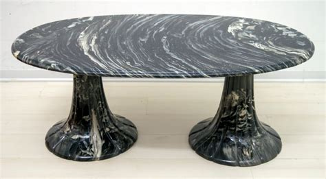 The finish is in acrylic matt touch pore varnish. Italian Black Marble Coffee Table, 1980s in 2020 | Black marble coffee table, Round glass coffee ...