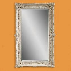 floor mirror antique antique white wall leaning floor mirror 43w x 69h in mirrors at hayneedle